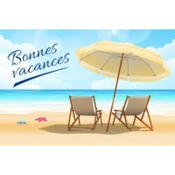 PAUSE ESTIVALE DU 4 Août au 26 Août 2016 INCLUS